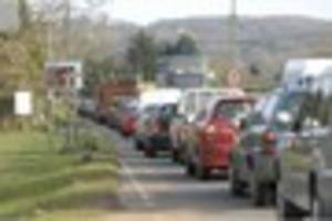 Polite drivers are getting the blame for Torbay's worst traffic...