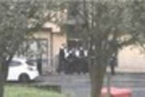 Large police presence in Thornton Heath as officers reportedly...