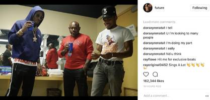 future & chance the rapper low-key cooking something up