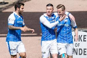 st johnstone boss tommy wright highlights the importance of steven maclean