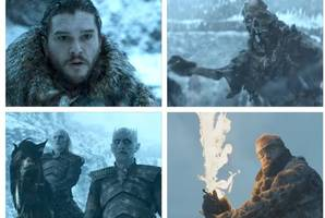 'winter is here' watch game of thrones season 7, episode 6 trailer as jon snow's magnificent seven face white walkers in battle