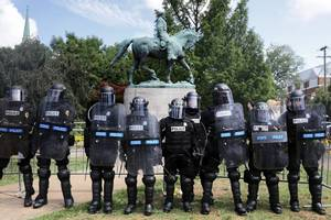 charlottesville: police action and inaction scrutinized