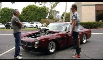 Chevy V8-swapped Ferrari 250 GTE Hot Rod Is For Sale On eBay