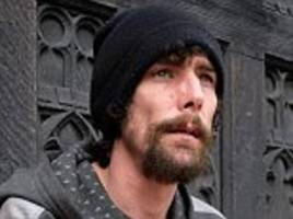 Homeless man in court over claims he STOLE bank card
