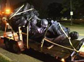 Four Confederate monuments are removed in Baltimore