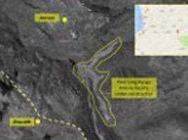 iran 'is building a missile factory on the syrian coast'
