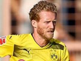 Borussia Dortmund lose Andre Schurrle to thigh injury