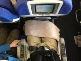 how much legroom you get on major us airlines