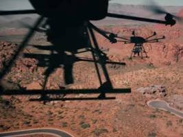 A US defense contractor developed a drone that can fire a sniper rifle