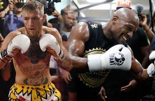 It's official: Conor McGregor and Floyd Mayweather will fight in 8oz gloves