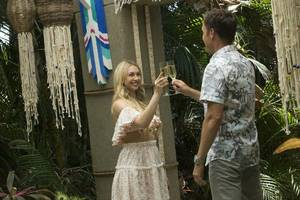 'bachelor in paradise' fans doubt cast reaction to scandal: did they read 'abc isn't liable' cue cards?