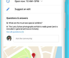 Google brings Q&As to Google Maps and search