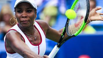 cincinnati open: venus williams knocked out in second round by qualifier ashleigh barty