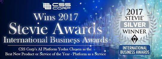 CSS Corp Wins Silver Stevie® in 2017 International Business Awards℠