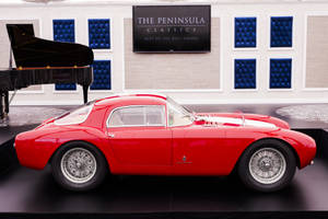 the peninsula classics best of the best award for 2016 awarded to 1954 maserati a6gcs/53 berlinetta by pinin farina