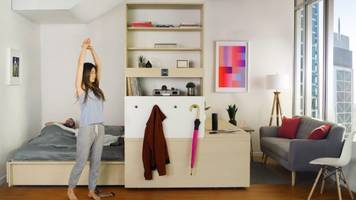 Origami-Inspired Furniture Makes Small Spaces Roomy
