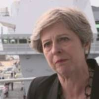 Theresa May condemns far right, but fails to call out Donald Trump for his defence of Nazis