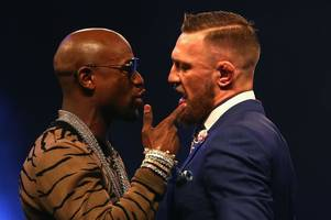 Floyd Mayweather v Conor McGregor: Where you can watch the fight in Derby