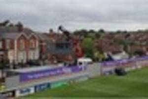 exeter city issue latest redevelopment update as a crane visits...