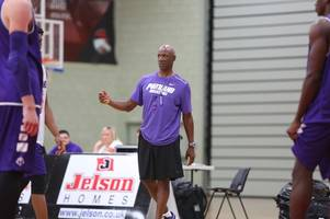 nba legend in city for leicester riders game