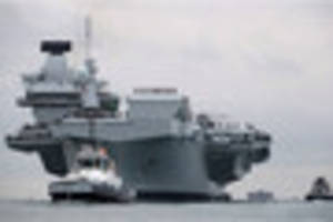 why the navy's new aircraft carrier will never come to plymouth