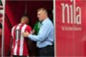 former exeter city forward ollie watkins on scoring his first...