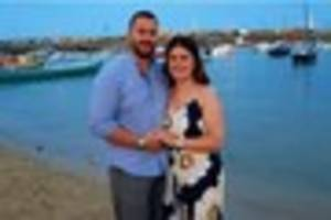 meet the couple who got engaged in front of 40,000 people when we...