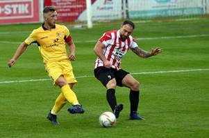 Liddiard's late header seals win for Evesham United against Cinderford Town