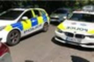 Caterham man charged after police officer has face bitten by dog