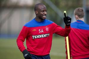 former rangers star sone aluko savages online troll with cheeky twitter comeback