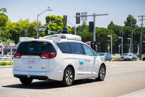 Waymo Patents Technology to Create Collapsible Car Exterior