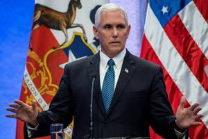 Vice President Pence Says He 'Stands With the President' Following Charlottesville Remarks