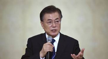 South Korean leader hints at sending envoy to North and rules out war