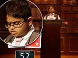Child Genius prodigy Rahul memorises 52 cards in an hour