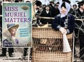 a woman's place is in the house: muriel matters