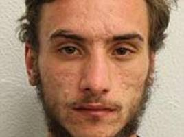 london homeless man found with skin-burning liquid jailed