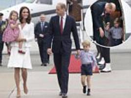 Why Prince William shouldn't fly on same plane as family