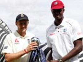 england vs west indies first test day one live