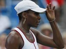venus williams beaten by qualifier ashleigh barty