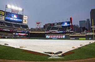 twins-indians postponed, doubleheader scheduled for thursday