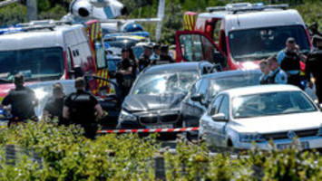 man arrested in french car attack that wounded 6 soldiers