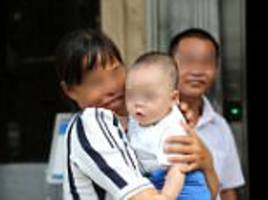 baby saved after being sold to human traffickers in china