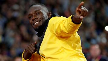 man utd: usain bolt to miss september charity match at old trafford