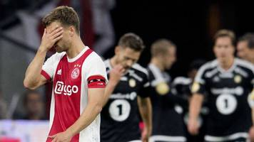 Ajax face uphill struggle in Europa League after home defeat