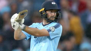 t20 blast: yorkshire and adam lyth break t20 domestic records