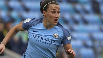 Lucy Bronze: England right-back in Lyon for talks over move from Manchester City