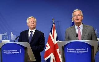 """ministers say uk will make """"sufficient progress"""" in brexit talks by october"""