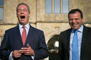 there's going to be a tv series about nigel farage based on arron banks' brexit book