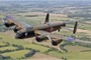 Devon Spitfire and Lancaster displays in doubt as historic planes...