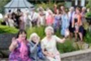 the plymouth carers who threw a dame vera lynn inspired garden...